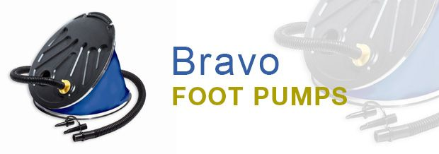 Bravo,Leading the World in Foot Pump technology