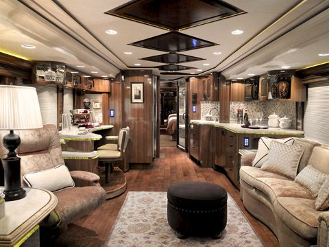 1000 images about camping car on pinterest luxury rv for Million dollar motor coaches
