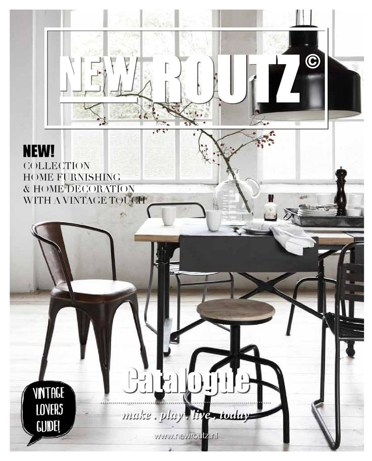 New Routz 2016  We bring character to your home with our vintage collection.