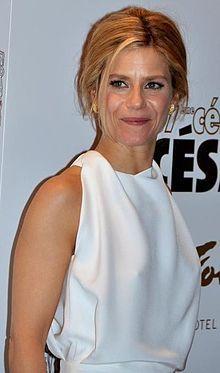 Marina Fois actrice née le 21 janvier 1970 / Boulogne-Billancourt (Hauts-de-Seine)