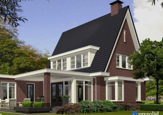 Ontwerp 8 visualisaties onze huizen presolid home huizen pinterest huizen ontwerp - Entree eigentijds huis ...