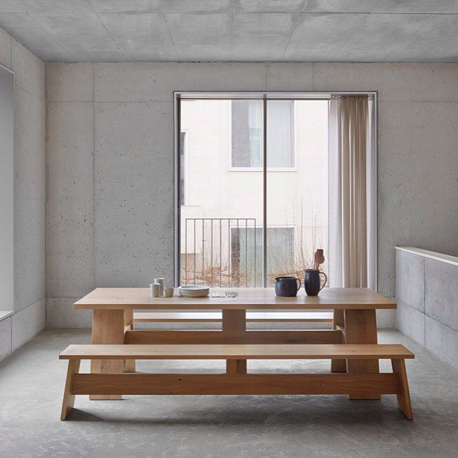 BRAND NEW - Fayland Table by E15, design David Chipperfield