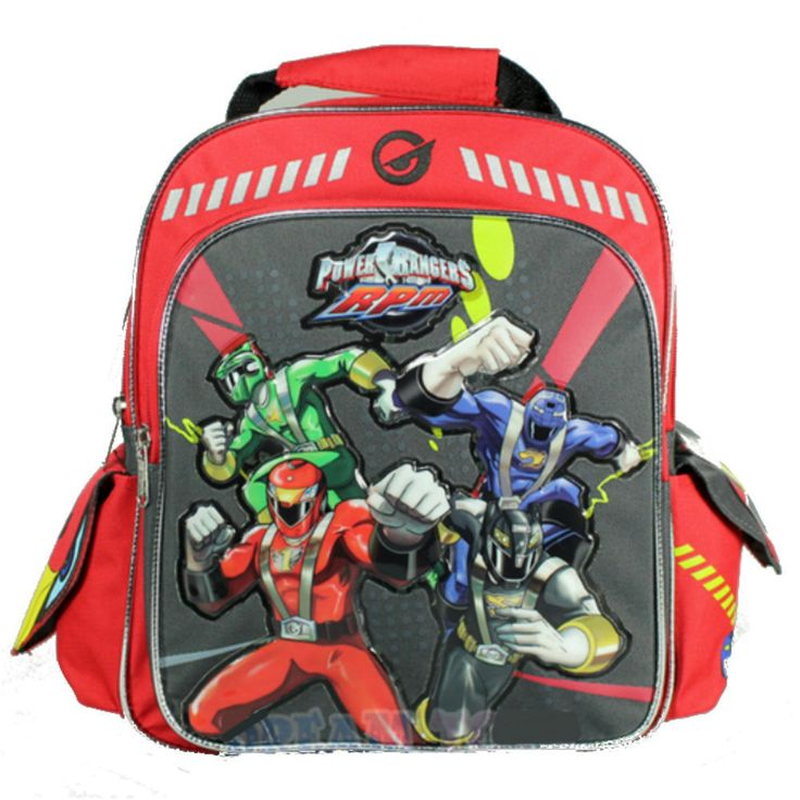 "Disney Power Rangers RPM Super Legends Toddler Boys Small 12"" Preschool Backpack #Disney #Backpack"