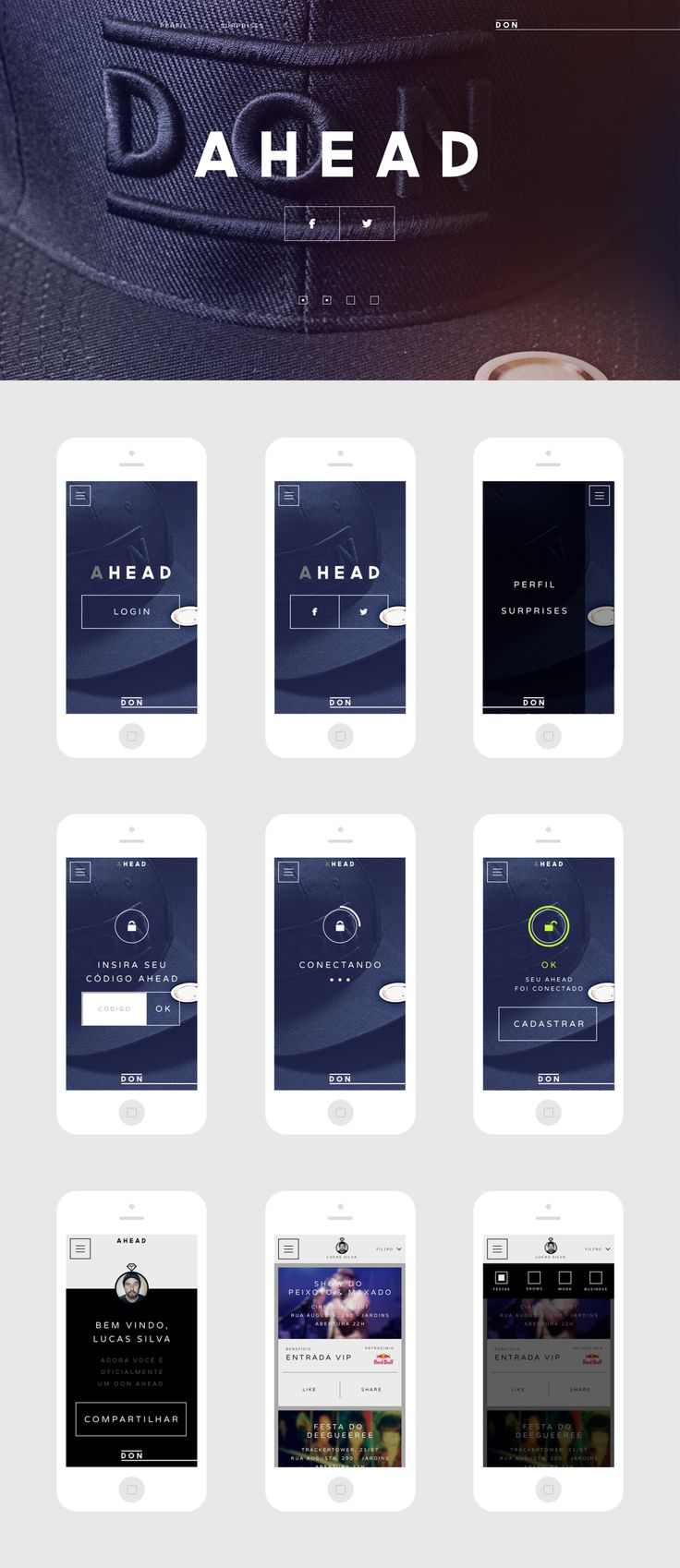 Ahead Interface #UI