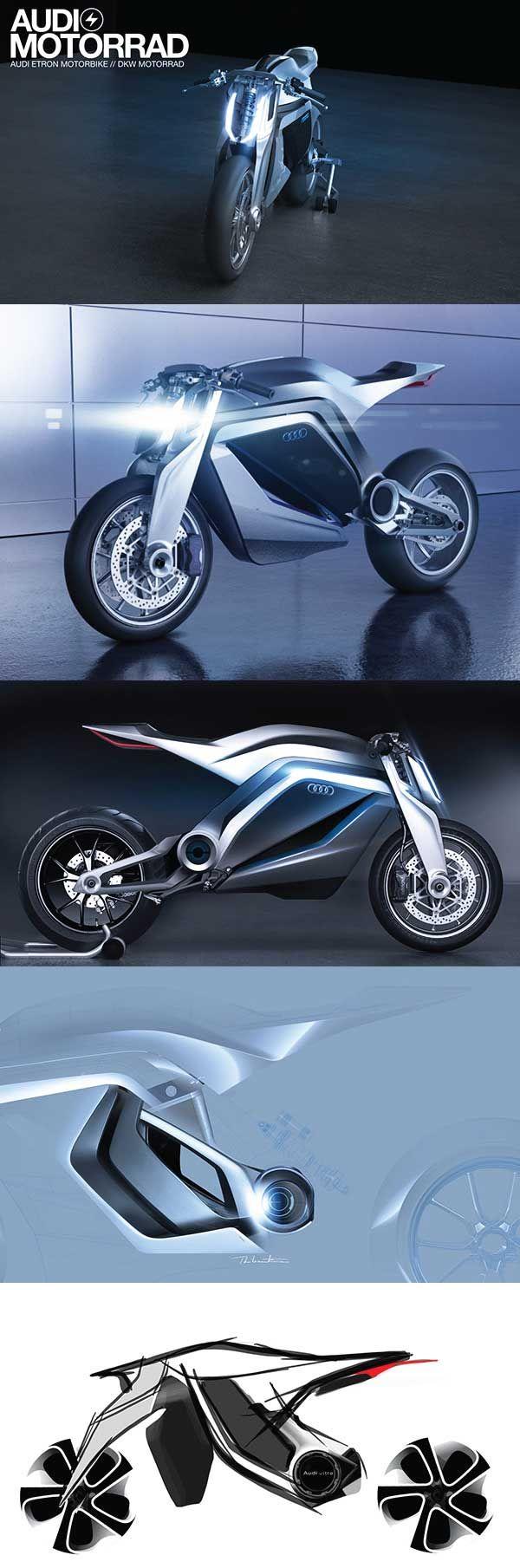 Ducati & Audi Collaboration Concept by Thibault Devauze