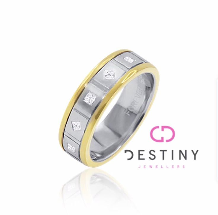 PRICELESS ⚜⚜ Who Said Males Don't Wear Jewellery?  GENTS 2Tone Diamond Ring‼️ Wedding or A Special Occasion⁉️   @ Destiny Jewellers We Have All Your Favourite Essentials  ... See More Tag PhotoAdd LocationEdit