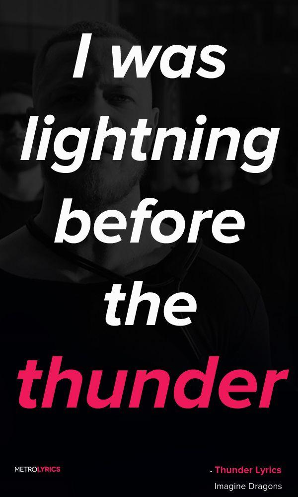 Imagine Dragons - Thunder Lyrics