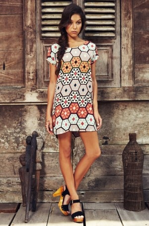 We love this Mister Zimi dress at Escape Haven