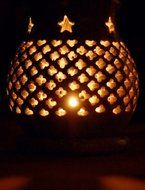 Aroma and atmosphere lamp Jali