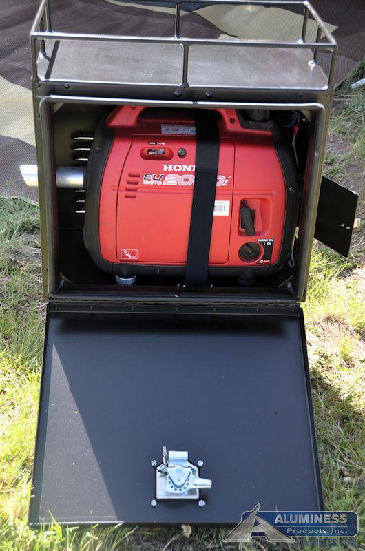 honda generator box caravan 2