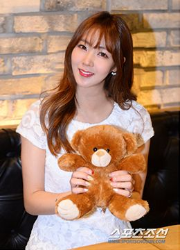 Fiestar Hye-mi in Sports Chosun Interview