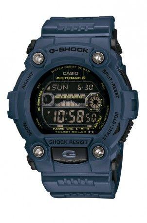 Montre Casio G-Shock Radio-pilotée Bleue GW-7900NV-2ER