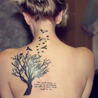 Cute tree of life tat