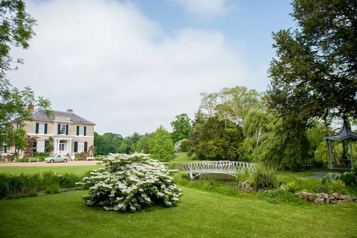 View of the house and bridge at Preston Court wedding #PrestonCourt (scheduled via http://www.tailwindapp.com?utm_source=pinterest&utm_medium=twpin)
