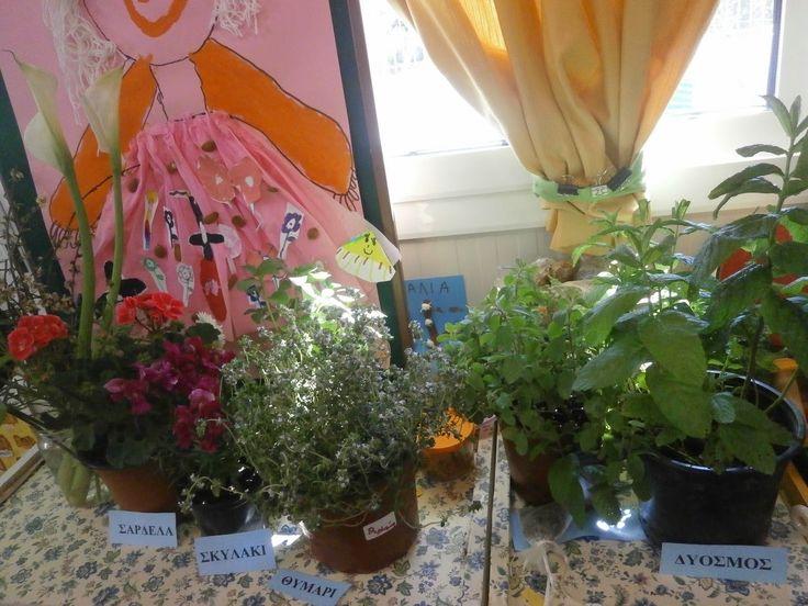 1ο Νηπιαγωγείο Αγ. Μαρίνας Τσαλικάκι: Η Άνοιξη στο σχολείο μας!