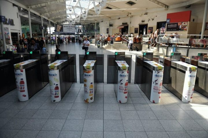 Juicy Drench Ticket Barriers