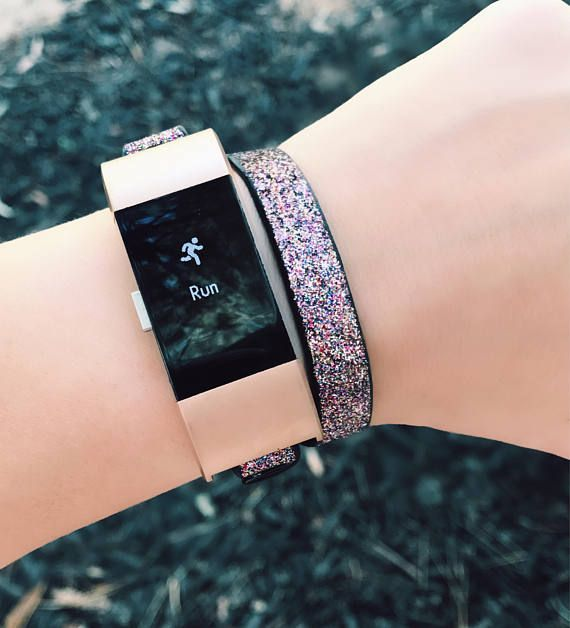 Please Read Full Description And See Photos Prior To Purchasing Leather Band Accessory For Fitbit Charge 2 Adjustable St Fitbit Bracelet Fitbit Charge Fitbit