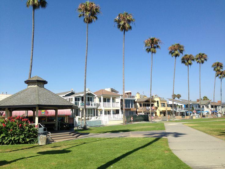 at New Port Beach
