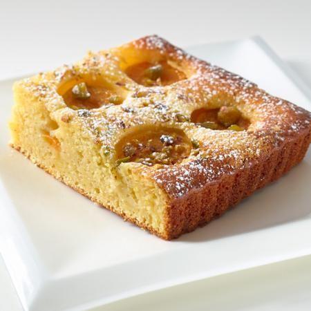 Gâteau aux abricots et à La Tomme des Demoiselles - Recettes - Fromages d'ici