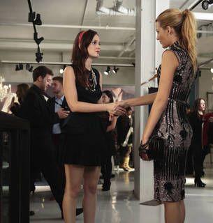 Gossip girl season 6 serena yellow dress