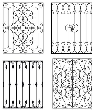 A Short History Of Wrought Iron Door Inserts Wrought iron is an excellent material for making protective and decorative doors. The metal is made out of pure iron. It was the metal of choice for...