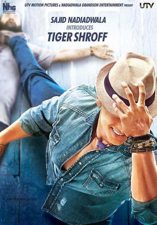 awesome 'HEROPANTI' Movie Poster Out: Tiger Shroff Looks Promising