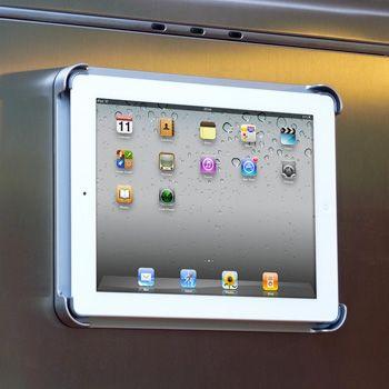 FridgePad. Magnetic iPad frame.