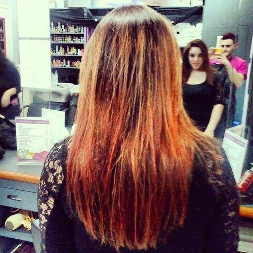 #shatush. new hair for isabella.