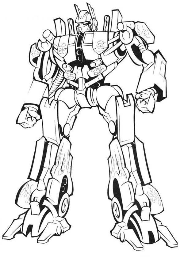 Optimus Prime Coloring Pages Boyama Kitaplari Boyama Sayfalari