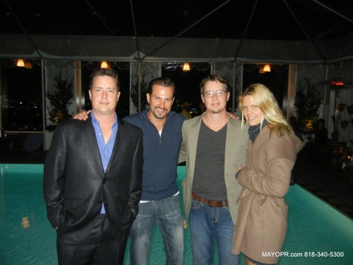 Hurricane Sandy Benefit Birthday Bash for Twin Actors Jason & Jeremy London at the Sky Bar at the Mondrian, W. Hollywood.