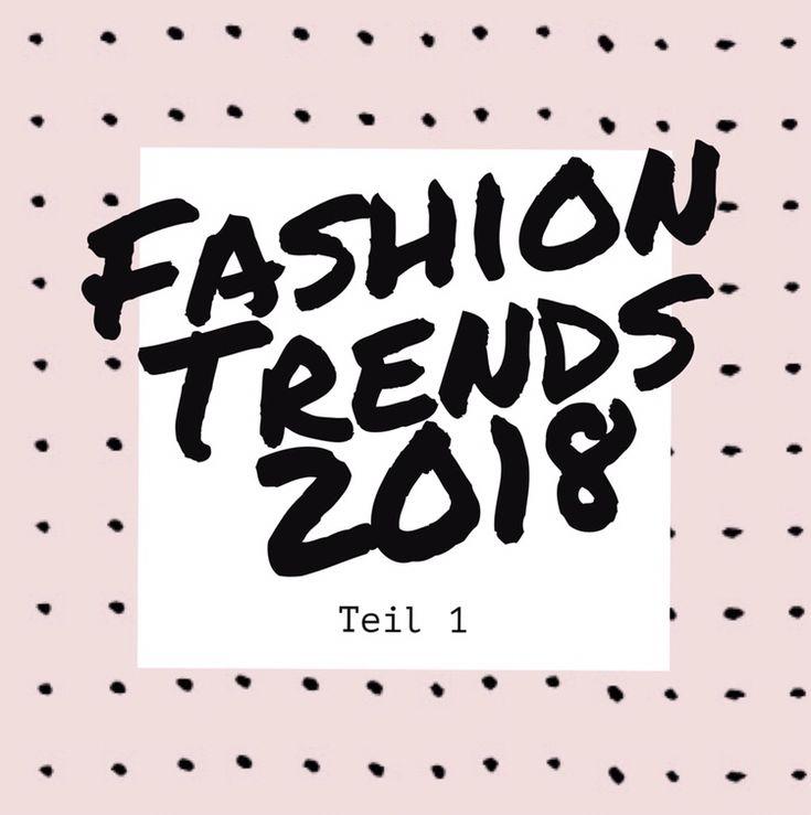 Nun ist bereits Mitte Januar und wir sollten nun endlich auf die Fashion Trends für 2018 blicken. In diesem Beitrag werdet ihr also alles rund um die Fashion Trends 2018 erfahren. Welche Fashion Trends sind…