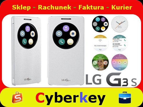 Etui Lg G3s Quickcircle Ccf 490g White 5212708891 Oficjalne Archiwum Allegro Popsockets White Electronic Products