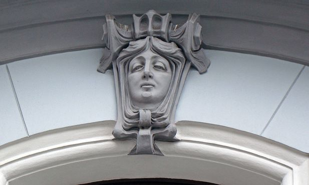 Улица Поварская, 44. 1903-1904 гг. Архитектор Л.Н. Кекушев.