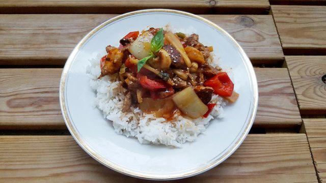 Jarell's Kung Po Chicken - Kotikokki.net - reseptit