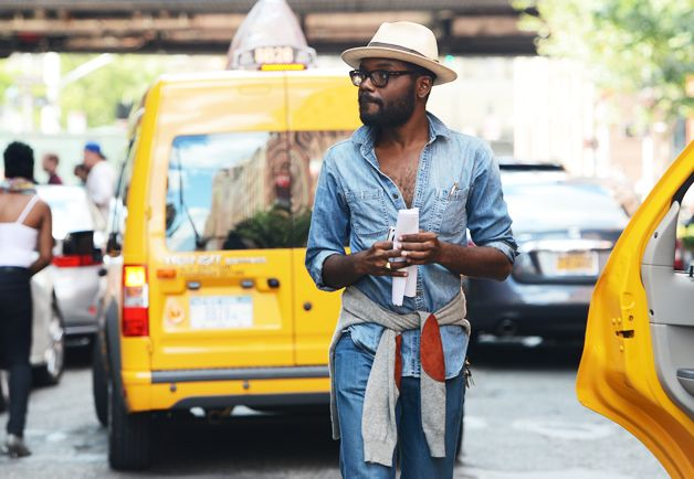 Men's style at NYFW
