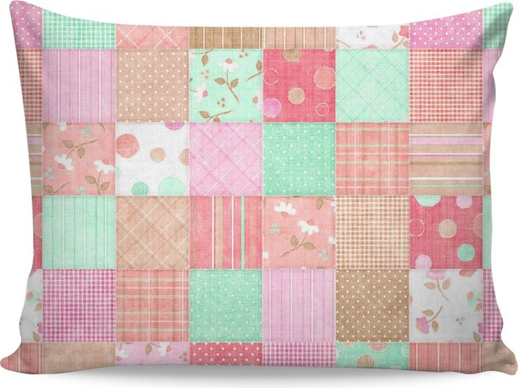 ROPC Quilted with Neutrals Pillow Case
