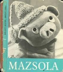 """Mazsola""=""Raisin"" the piggy :) Cute Hungarian retro tale"