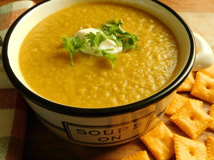 Chickpea and cauliflower soup- uses dried chickpeas- of course add onion and gar…   – Recipes- Soups and Stews