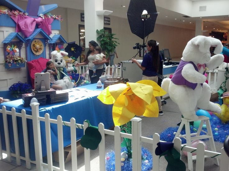 2-0-1-3 ~ The Place to be!  BASSETT HAS IT ... Easter Bunny and FREE movies, coloring, lolly pops & BUNNY EARS for your little Bunnies Bassett Place!!!
