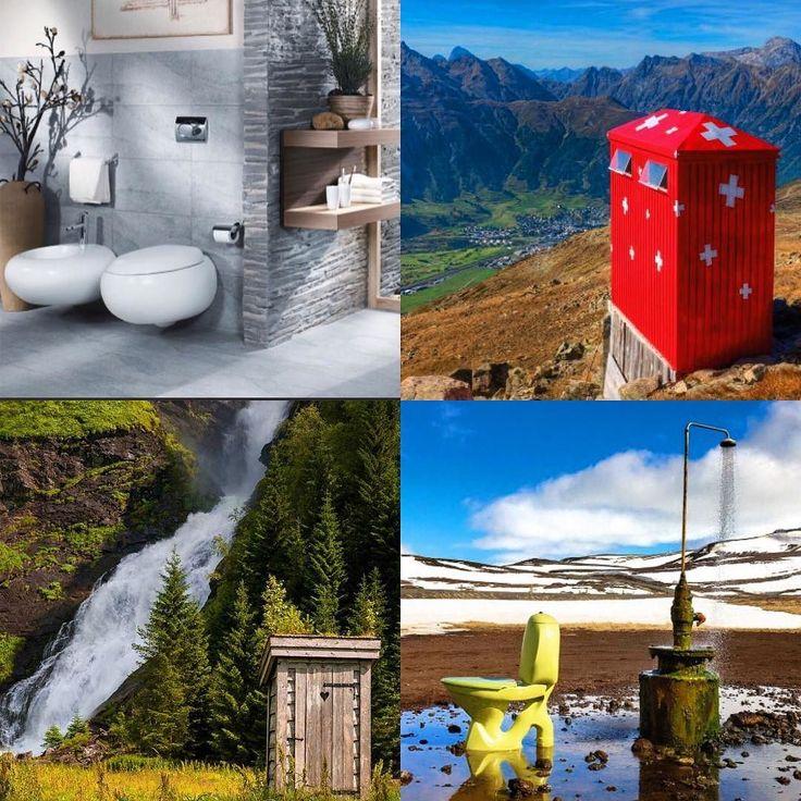 Toaletter for enhver smak og bak grund#rørlegger #toalett #design #inspiracion #humor #comfort #velkommentiloss  by comfortlier