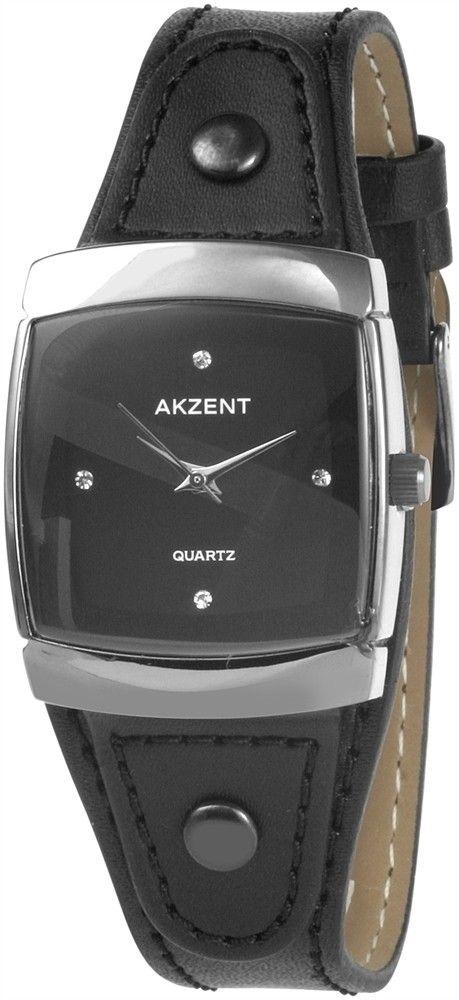 Černé elegantní hodinky