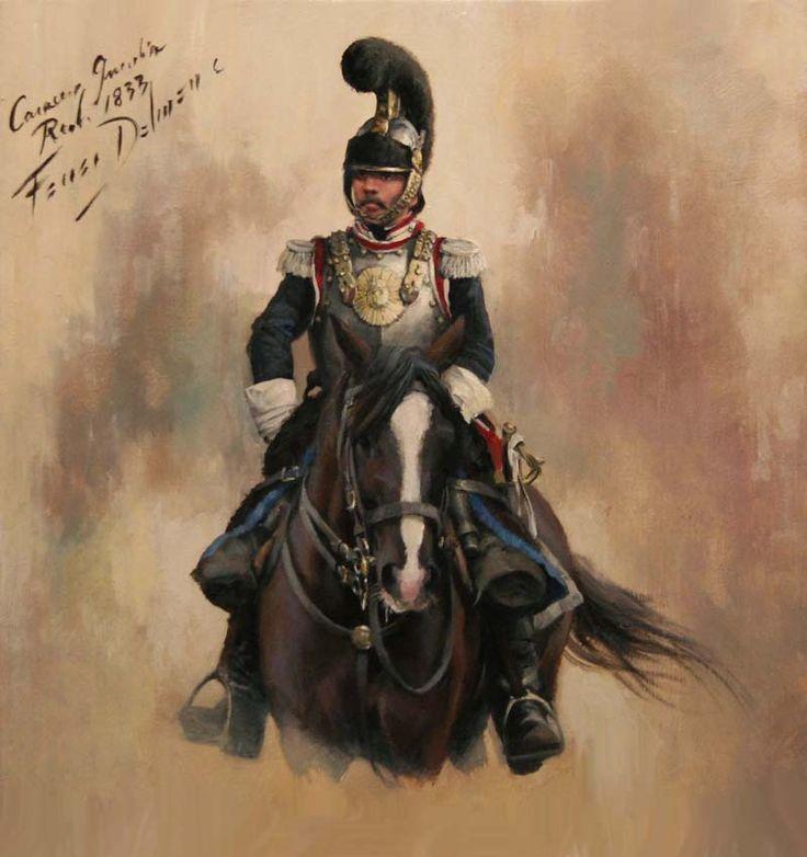 Regimiento de Coraceros de la Guardia Real 1833 - Augusto Ferrer-Dalmau Nieto
