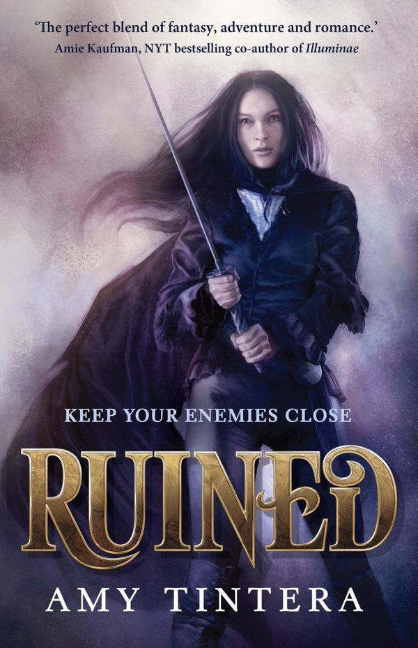 Ruined – Amy Tintera - May 2, 2017 https://www.goodreads.com/book/show/28562419-ruined
