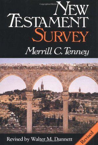 New Testament Survey by Merrill C. Tenney http://www.amazon.com/dp/0802836119/ref=cm_sw_r_pi_dp_Ni26tb0GXAZJT