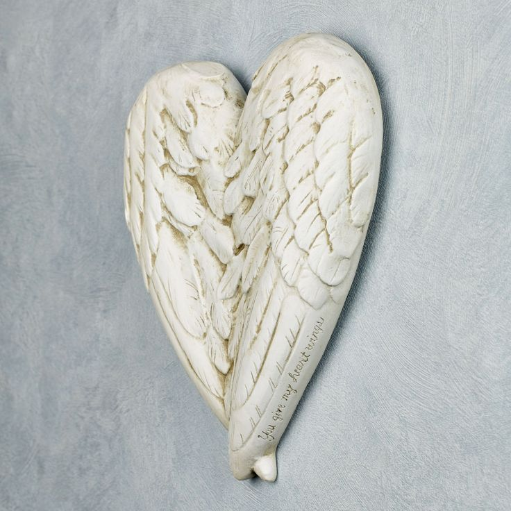 Angel Wings Wall Decor Plaque