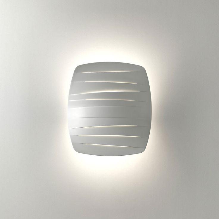 Flip+Vegglampe,+Hvit,+Foscarini