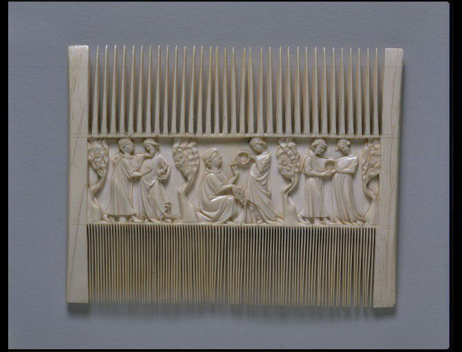 114 Best Images About Medieval Ivory Mirror Cases And Combs On Pinterest 12th Century 14th