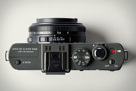 Leica D-Lux 6 special edition by G-Star RAW