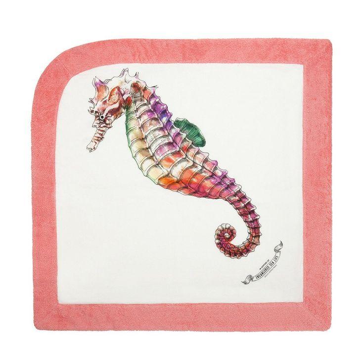 WWF Seahorse   Baby Towel - Sun of a Beach