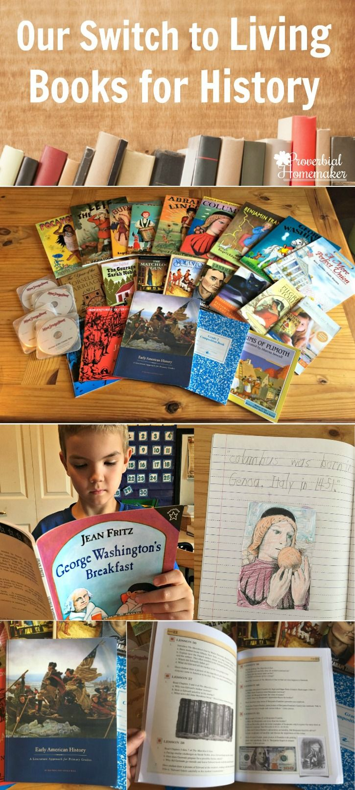 LOVE this way of teaching history! This homeschool mom shares how they switch their homeschool to using living books for history and the curriculum they use to do it - Beautiful Feet Books. Those books look amazing!